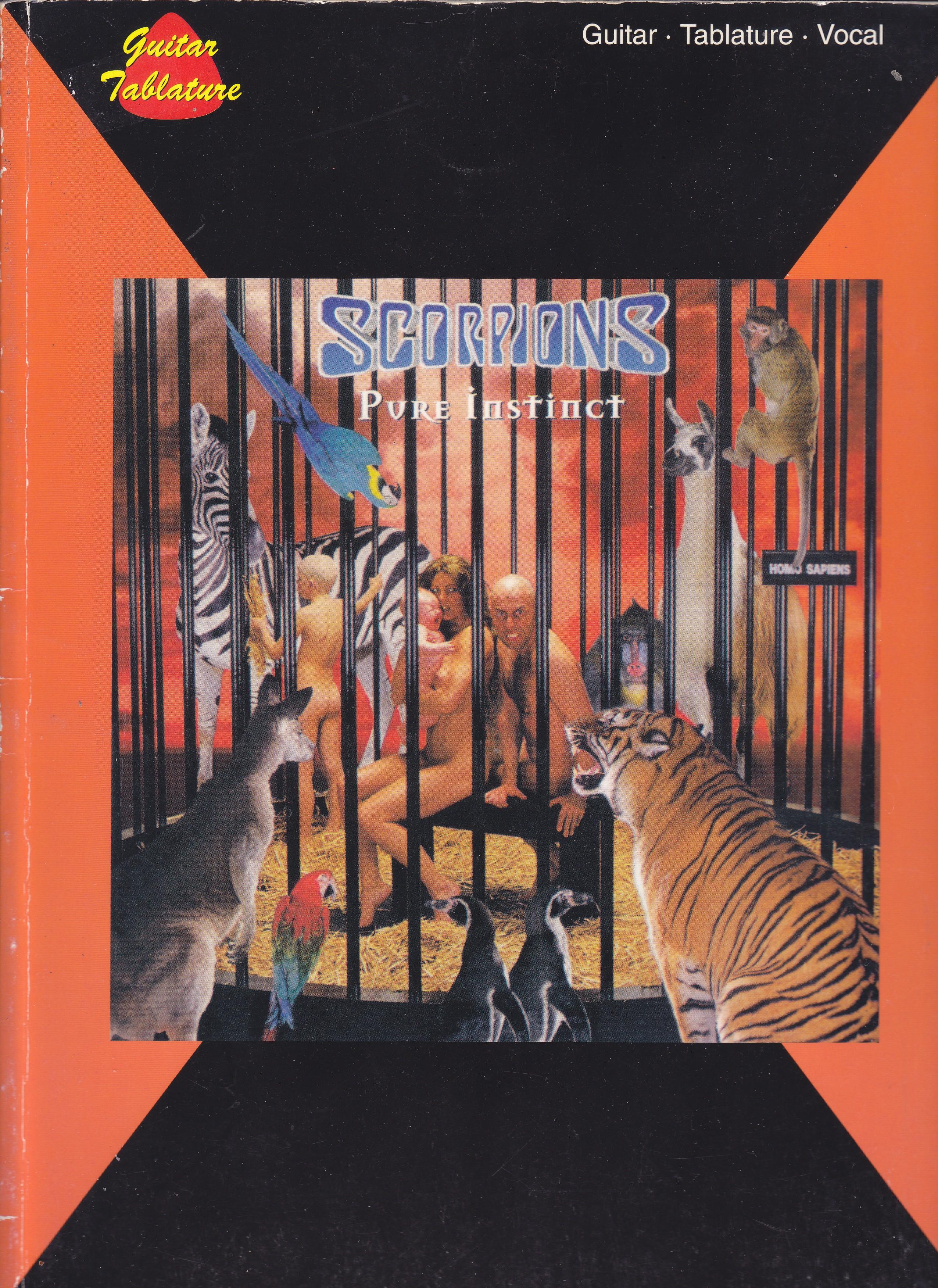 scorpions pure instinct spartito about music